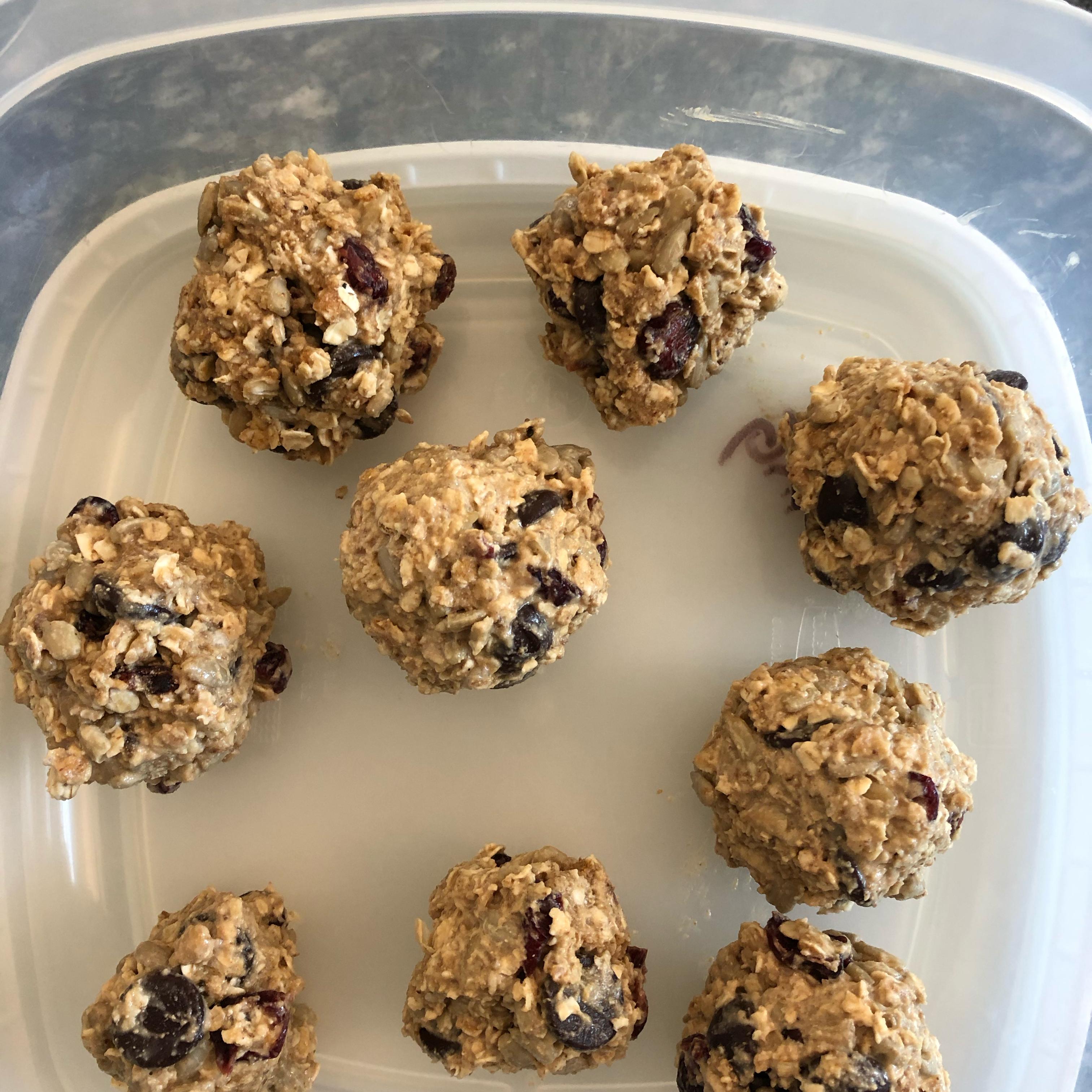 No-Bake Oatmeal Protein Bites