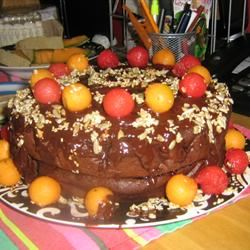 Eggless Chocolate Cake II queenlydia