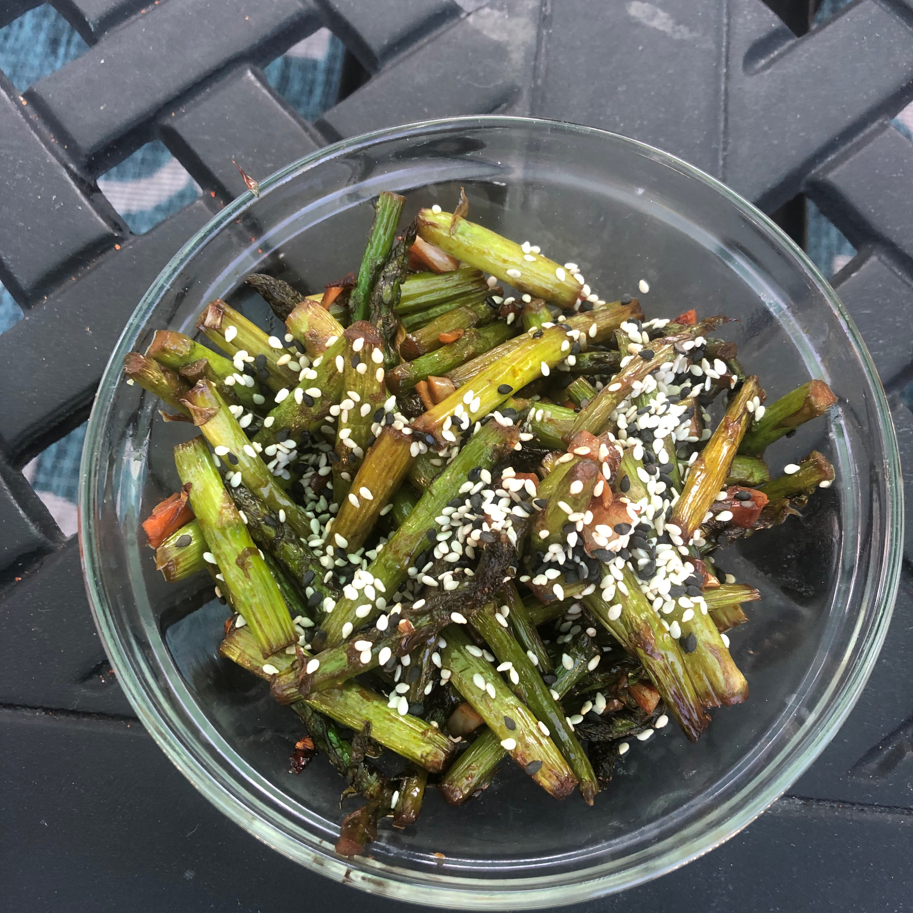 Garlic-Sauteed Asparagus The Simple Things