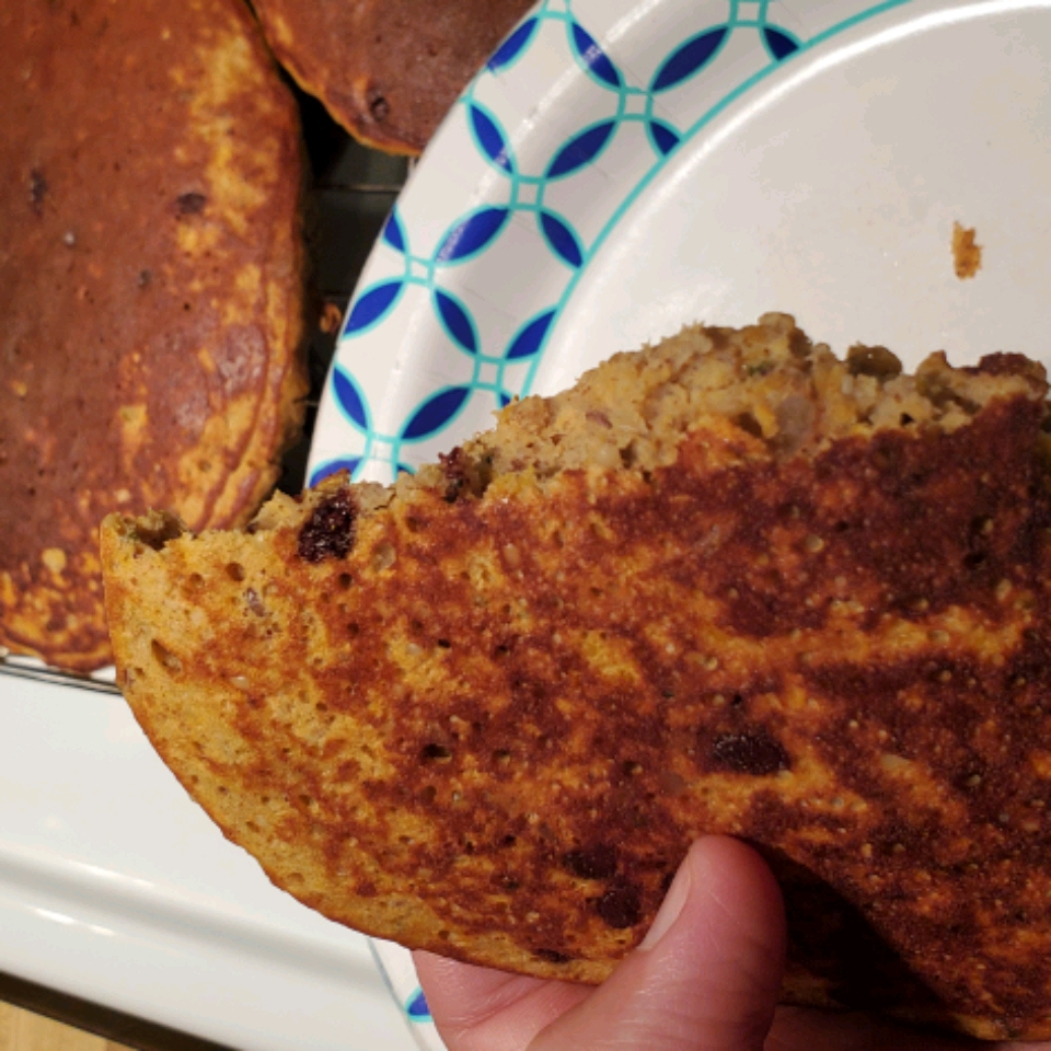 Sweet Potato Banana Pancakes ldk