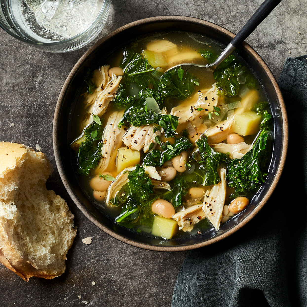 Chicken & Kale Soup Trusted Brands