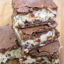 Coconut Macaroon Brownies