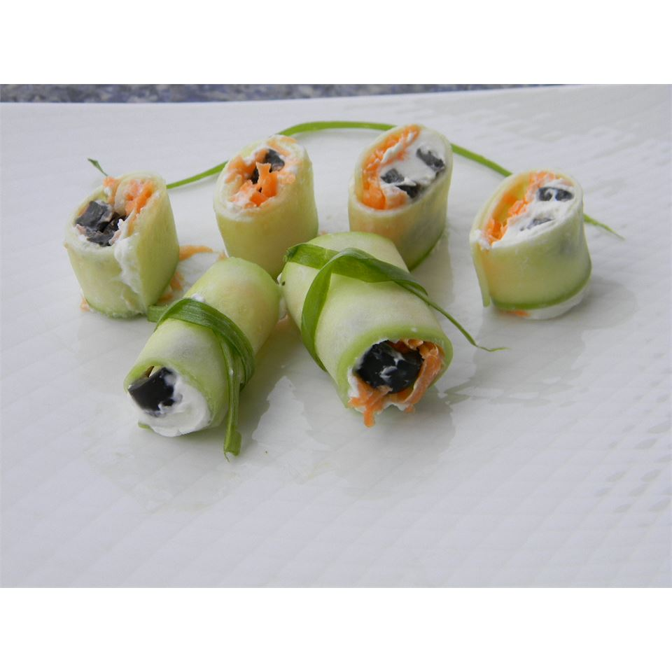 Mini Cucumber Sushi Rolls Baking Nana
