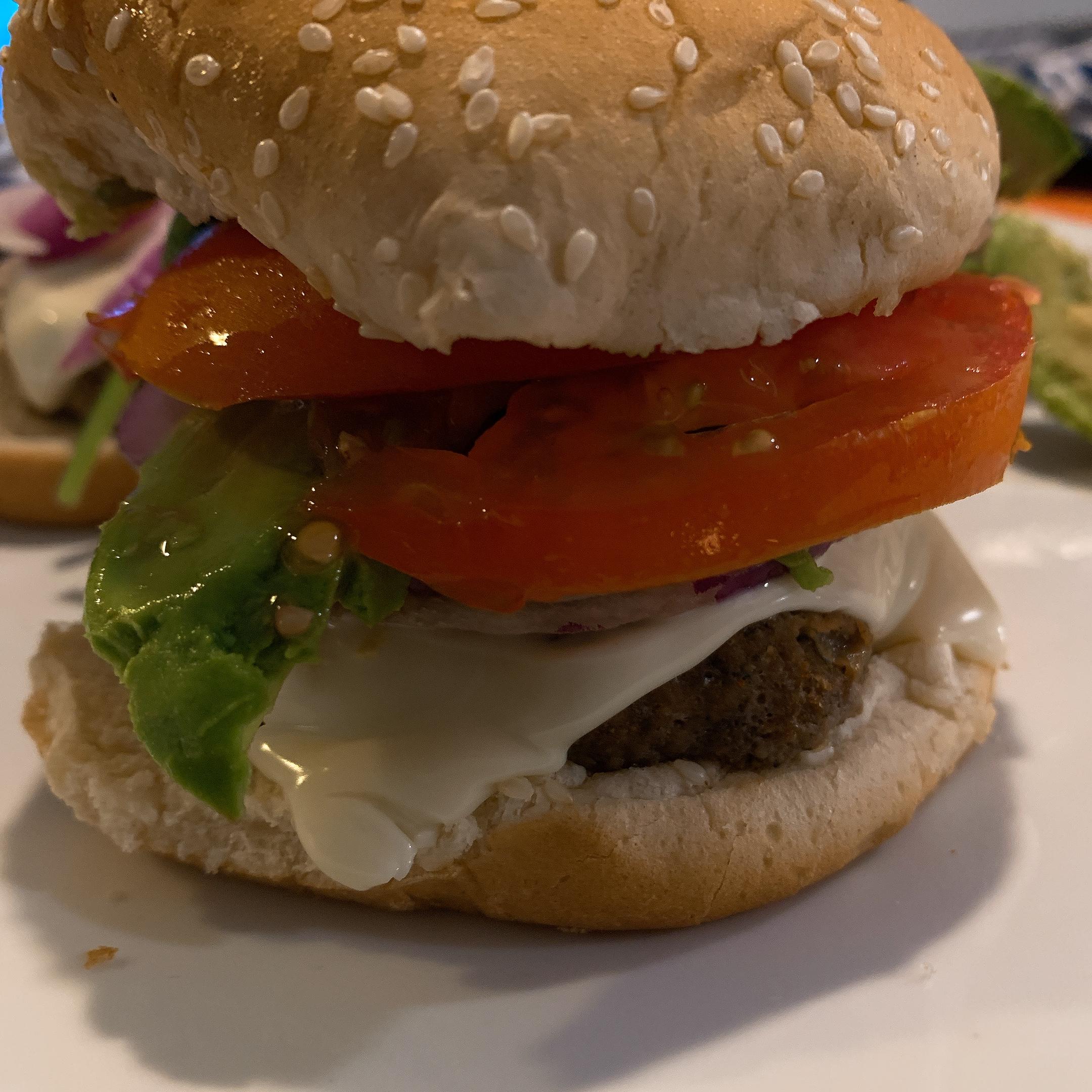 California Turkey Burger Tasha