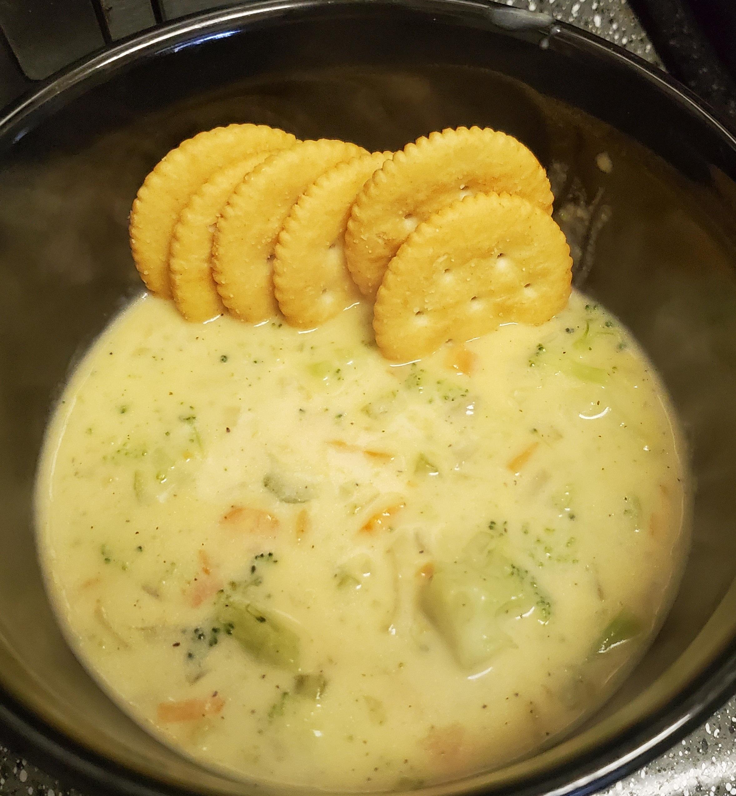 Copycat Panera® Broccoli Cheddar Soup