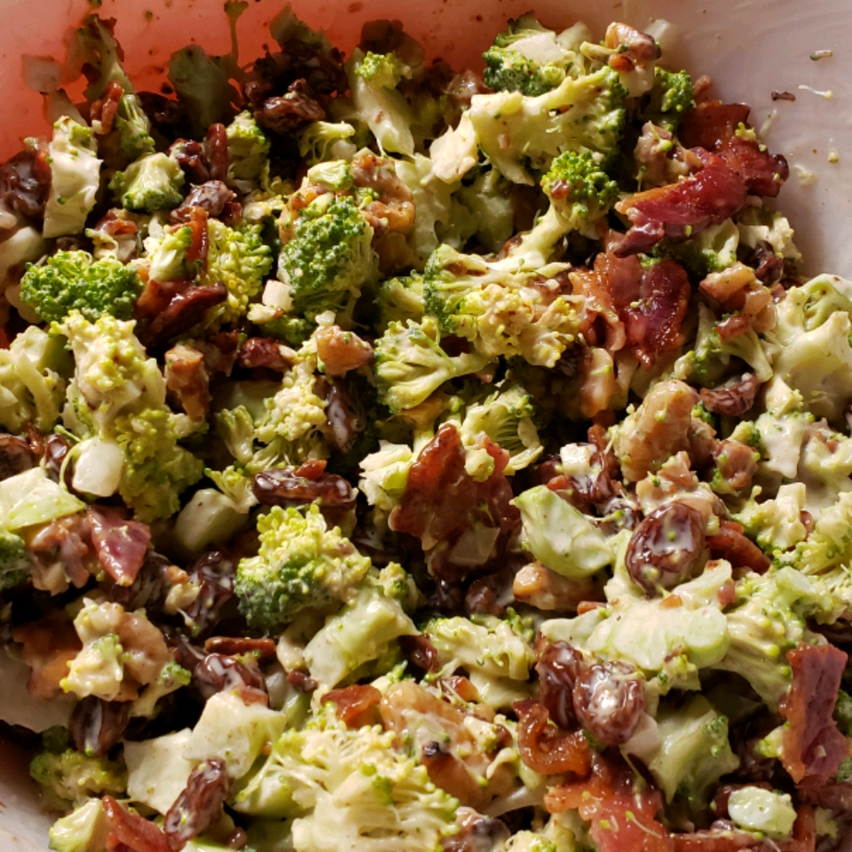 Broccoli Salad with Bacon Debbie Venus-Fenrich