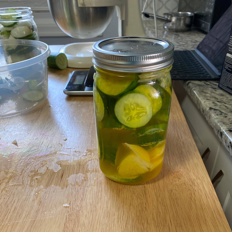Summertime Sweet Pickles