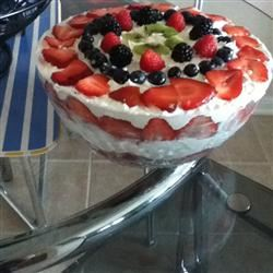 Angel Fruit Trifle rissab