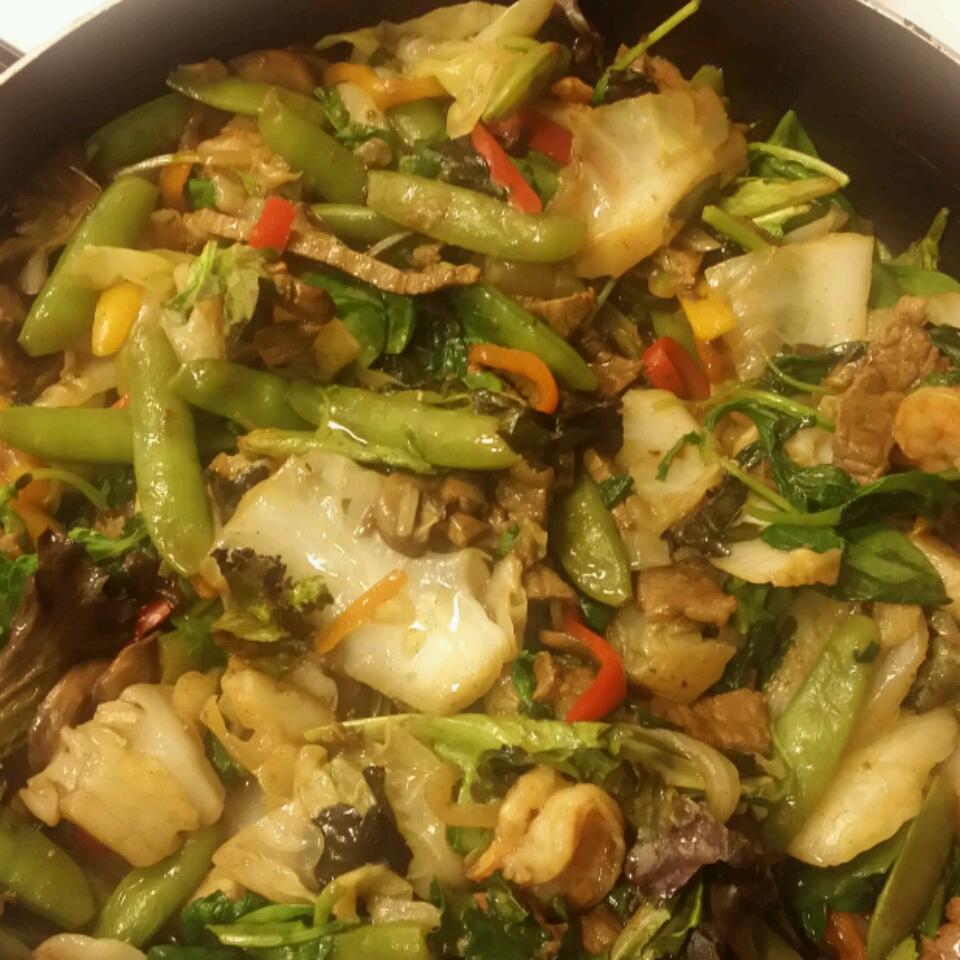 Stir-Fried Vegetables Nicole's Delights