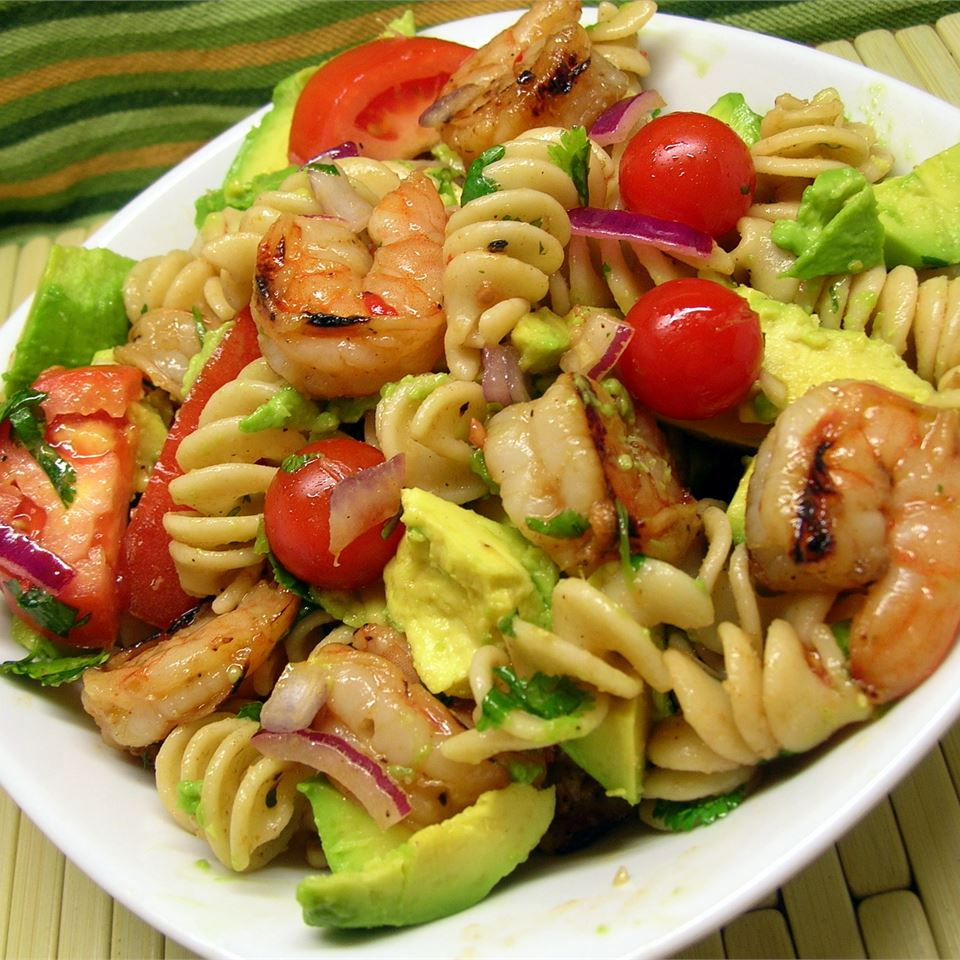 Lime-Shrimp Avocado Pasta Salad *Sherri*