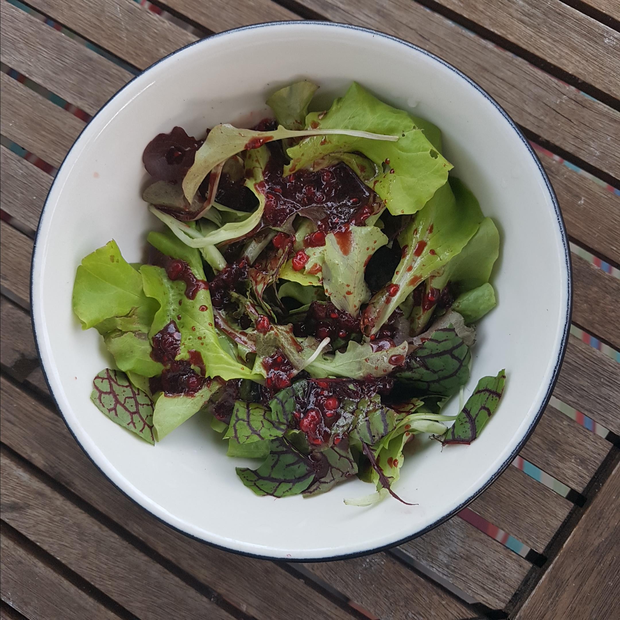 Fresh Raspberry Balsamic Vinaigrette Allan Webner