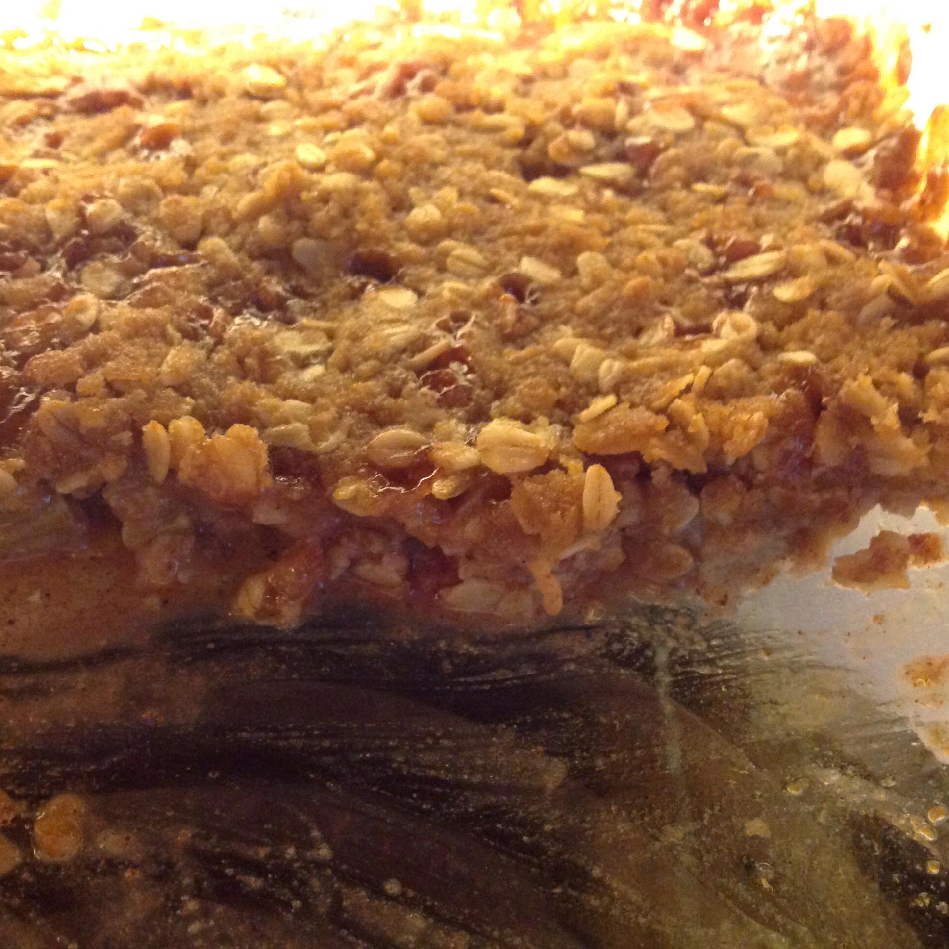 Mom's Rhubarb Crisp Yvette