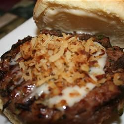 Crunchy Coconut and Lime Burgers