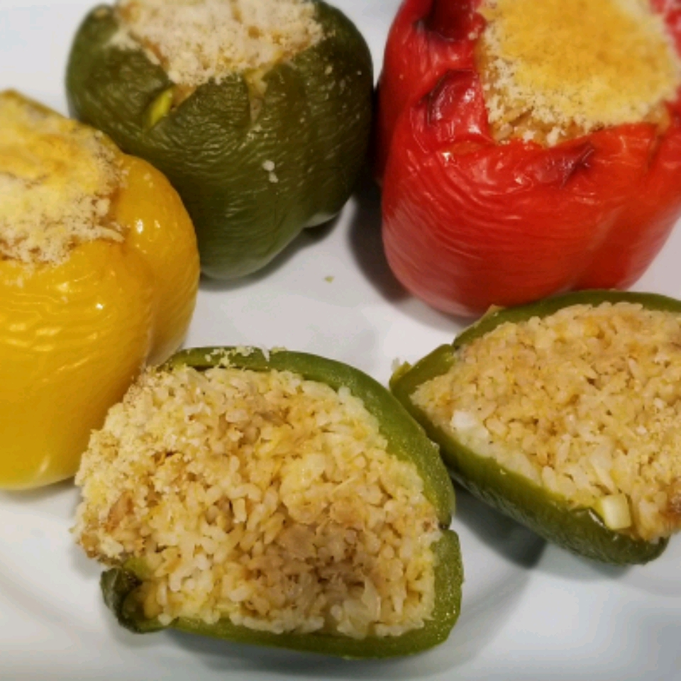 Stuffed Peppers with Tuna Rissti