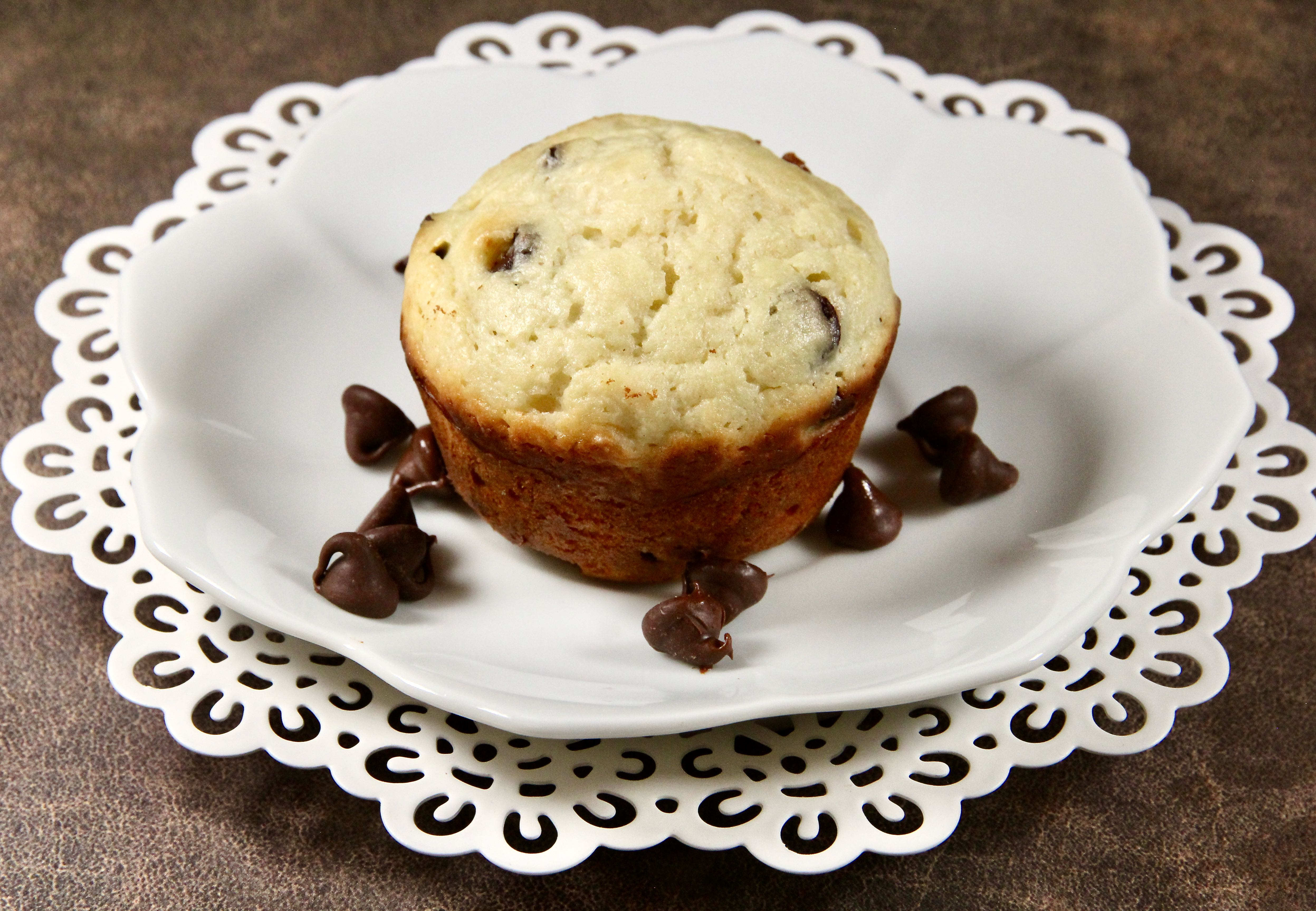 Chocolate-Ricotta Muffins