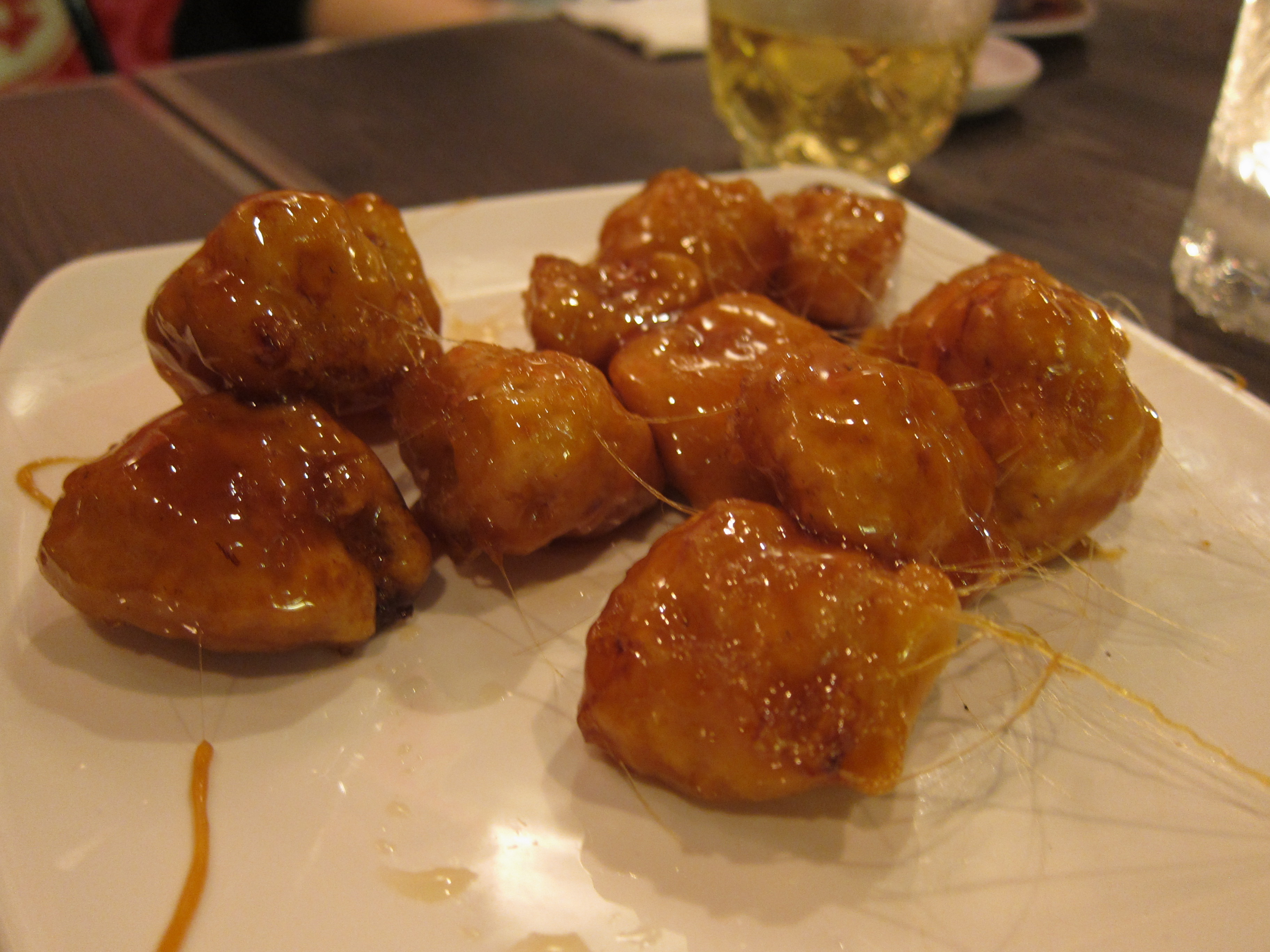 Chinese Toffee Apple Fritters