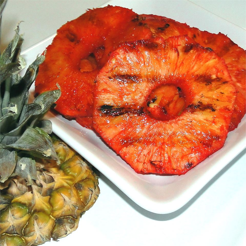 Barbequed Pineapple SHORECOOK