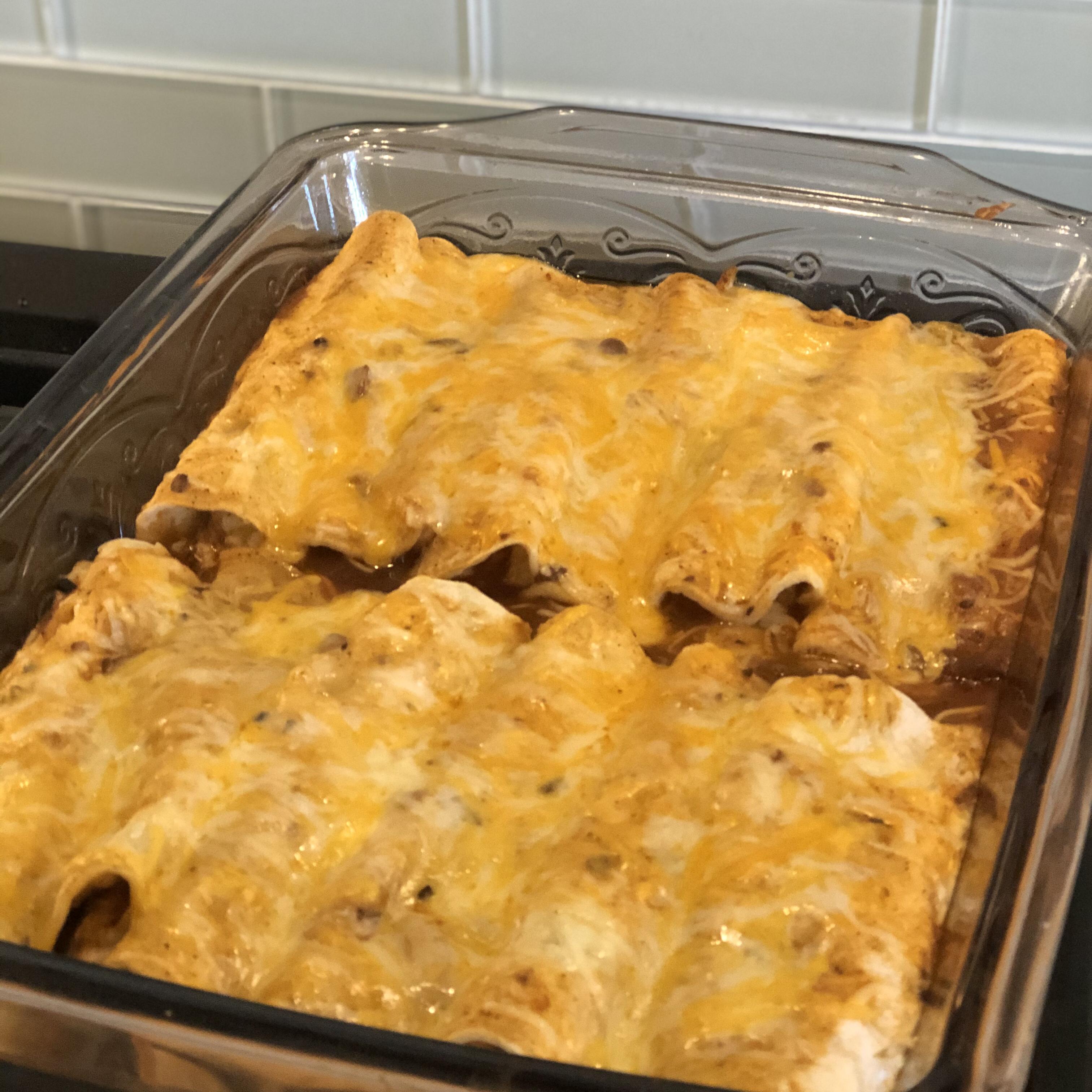 Instant Pot® Chicken Enchiladas cmc