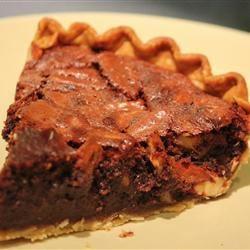Pecan And  Chocolate Espresso Pie MARBALET