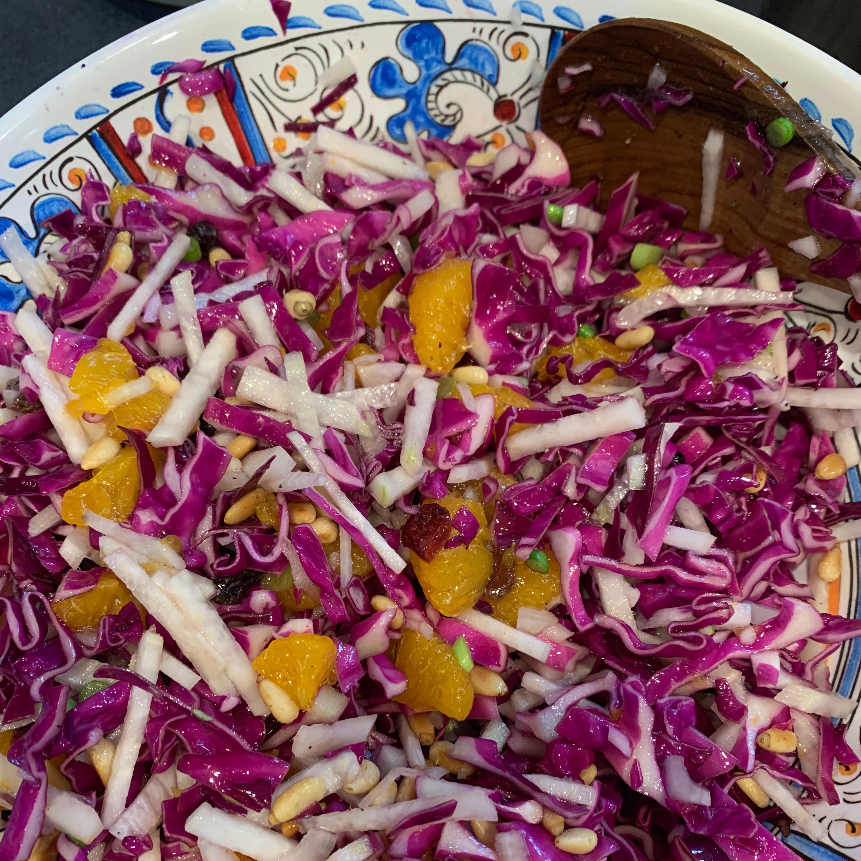 Purple Cabbage Salad Nancy VanWinkle