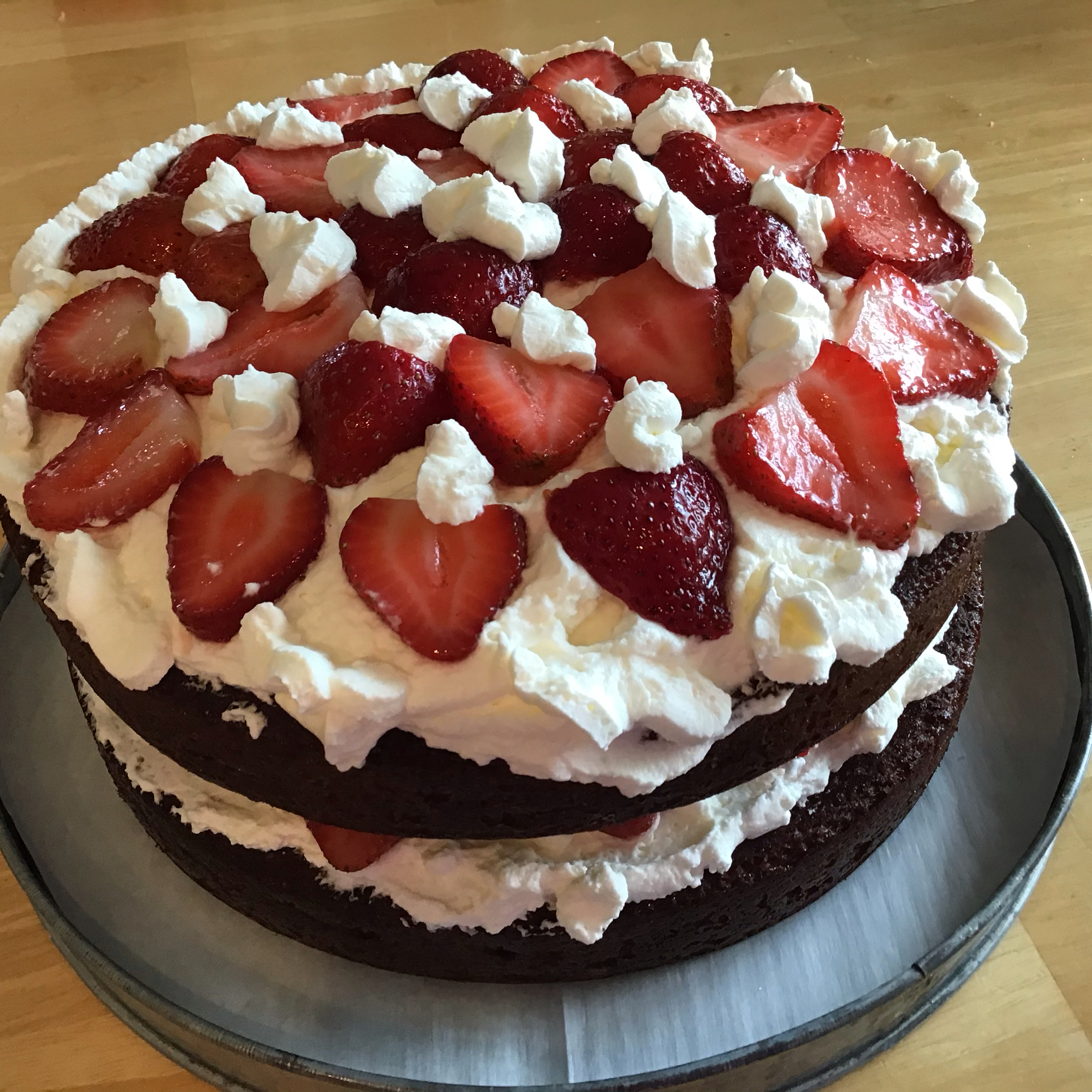 Big D's Chocolate Strawberry Shortcake Tanyia Conner