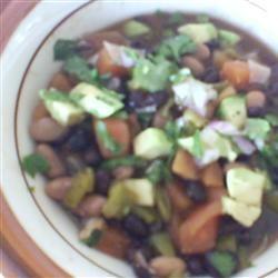 Citrus-Flavored Bean Chili with Papaya