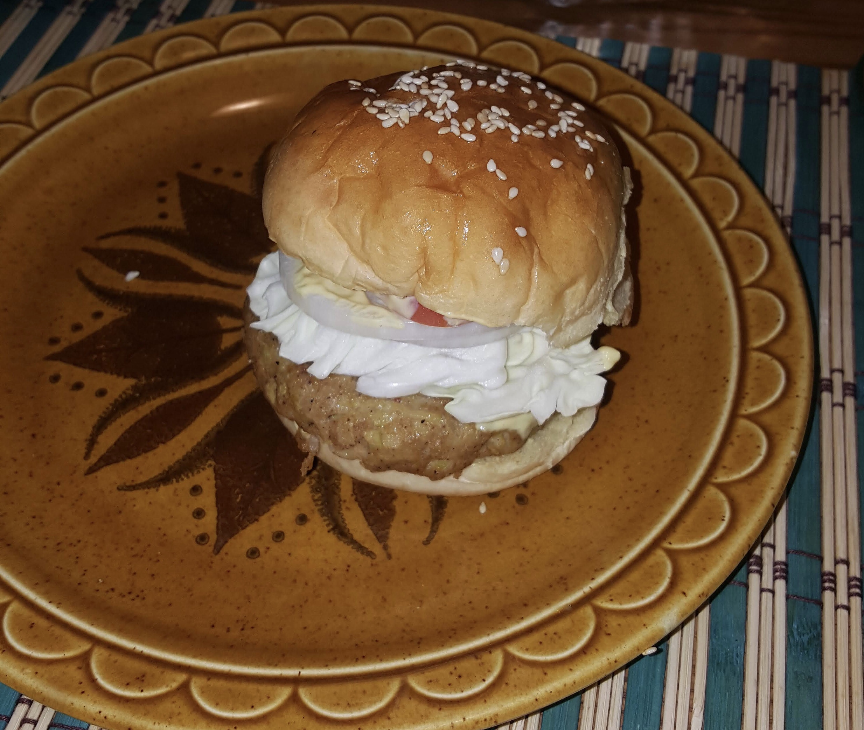 Asian Zucchini-and-Chicken Burgers Stephen Roberson