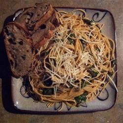 Pasta with Swiss Chard