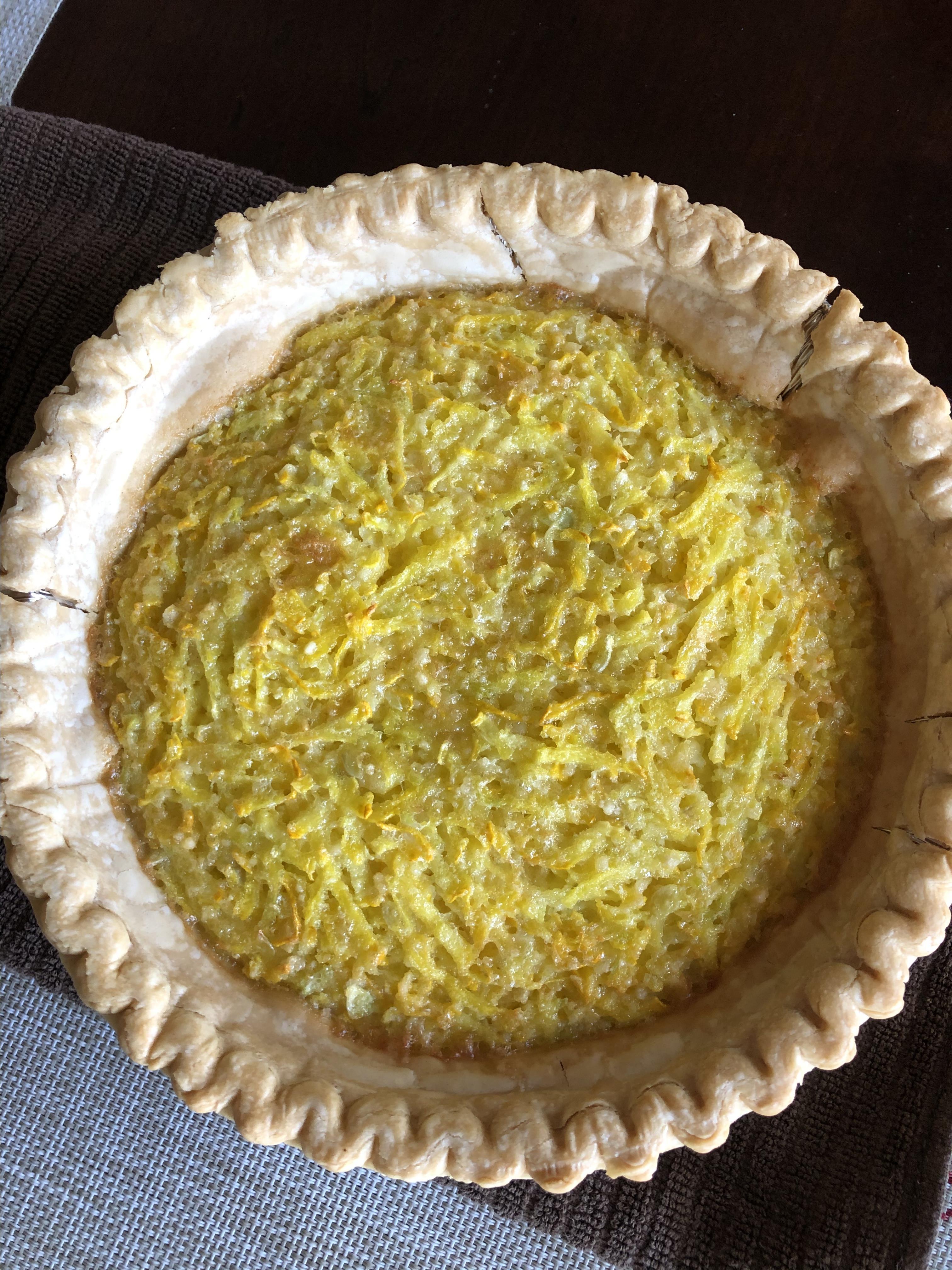 Squashed Lemon Coconut Pie Amy Lawler