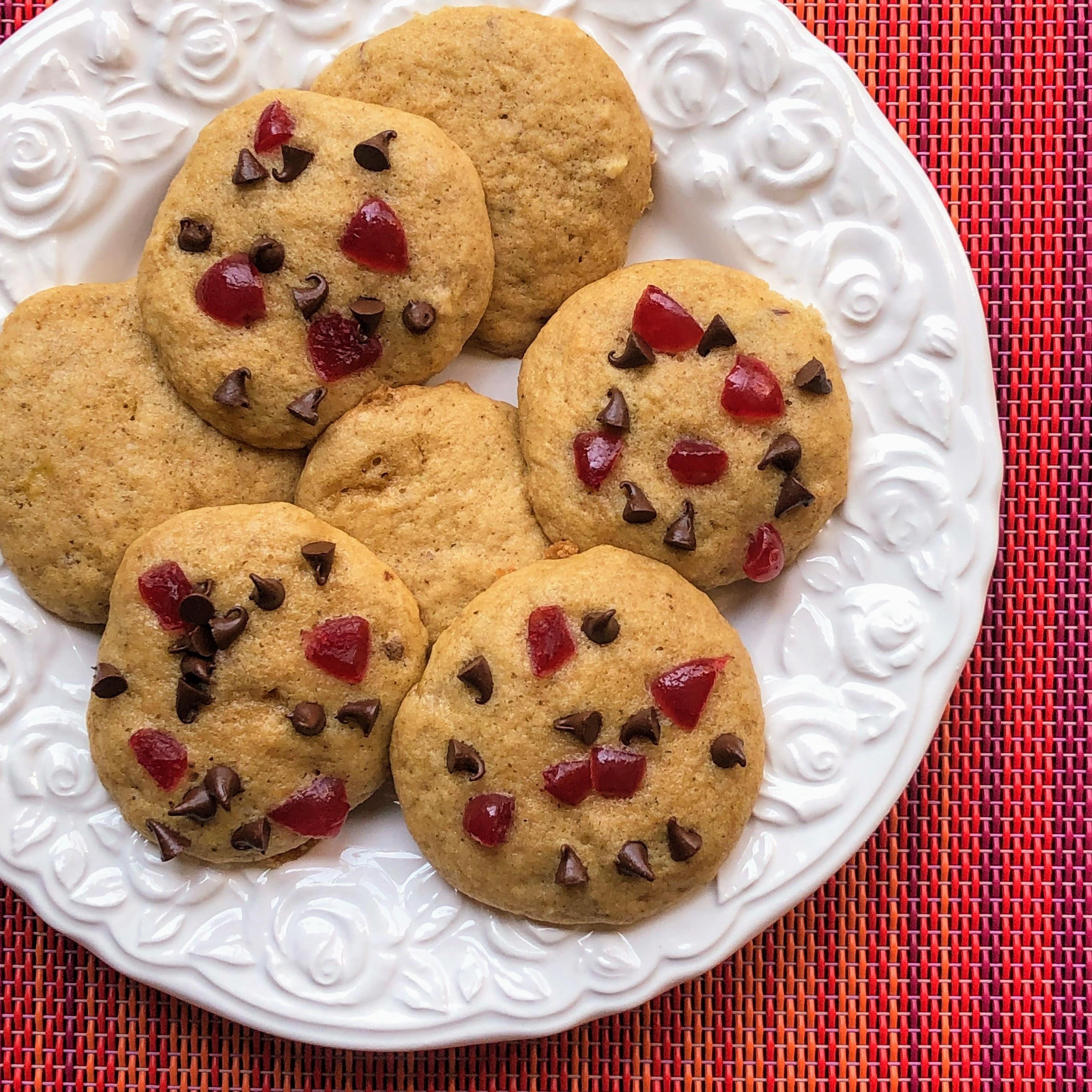 Banana Split Cookies