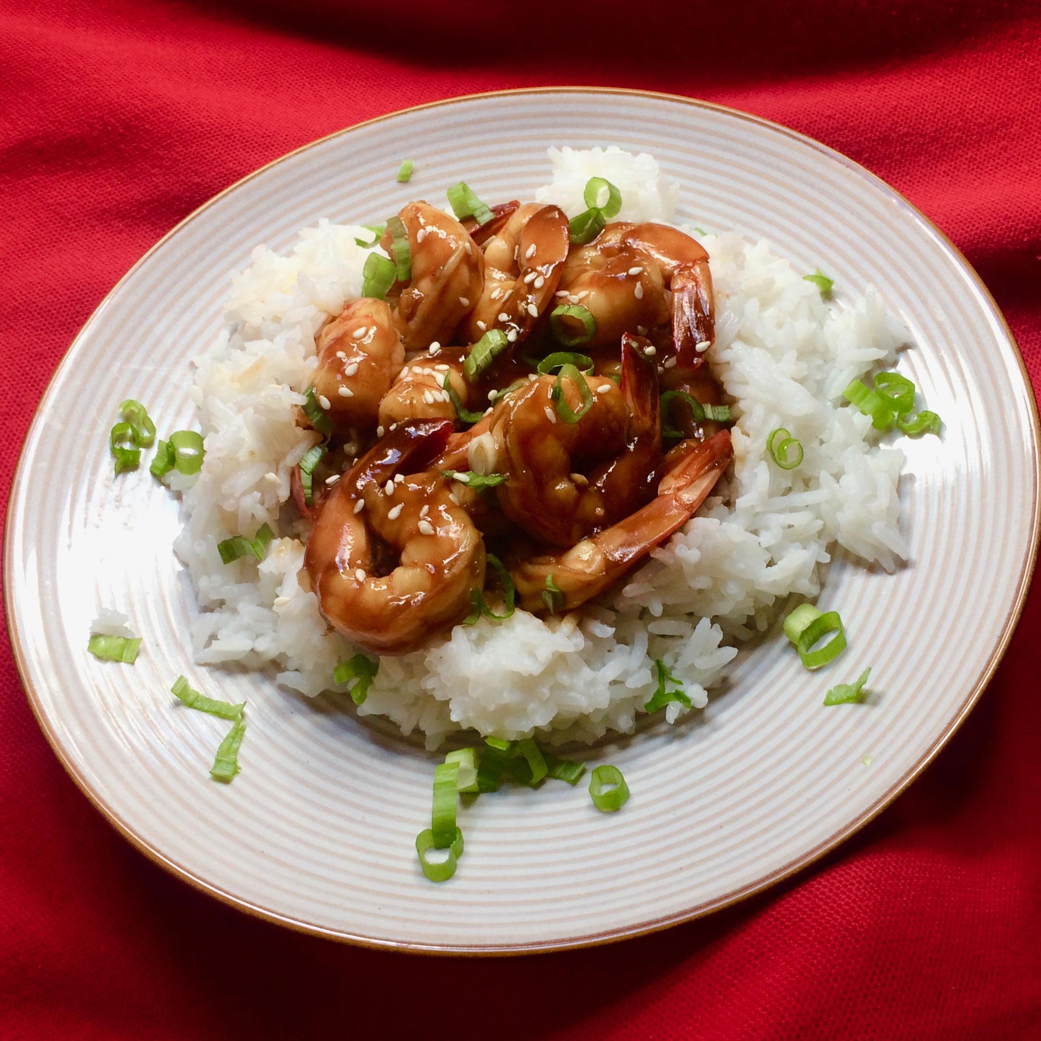 Homemade Teriyaki Shrimp