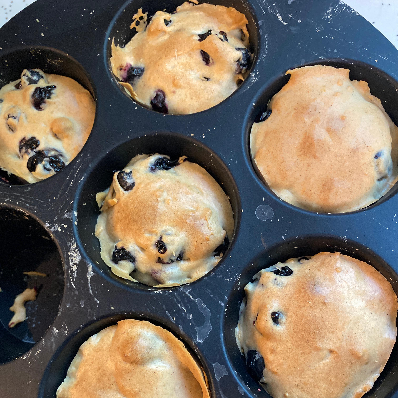 Air Fryer Blueberry Muffins Yaketty