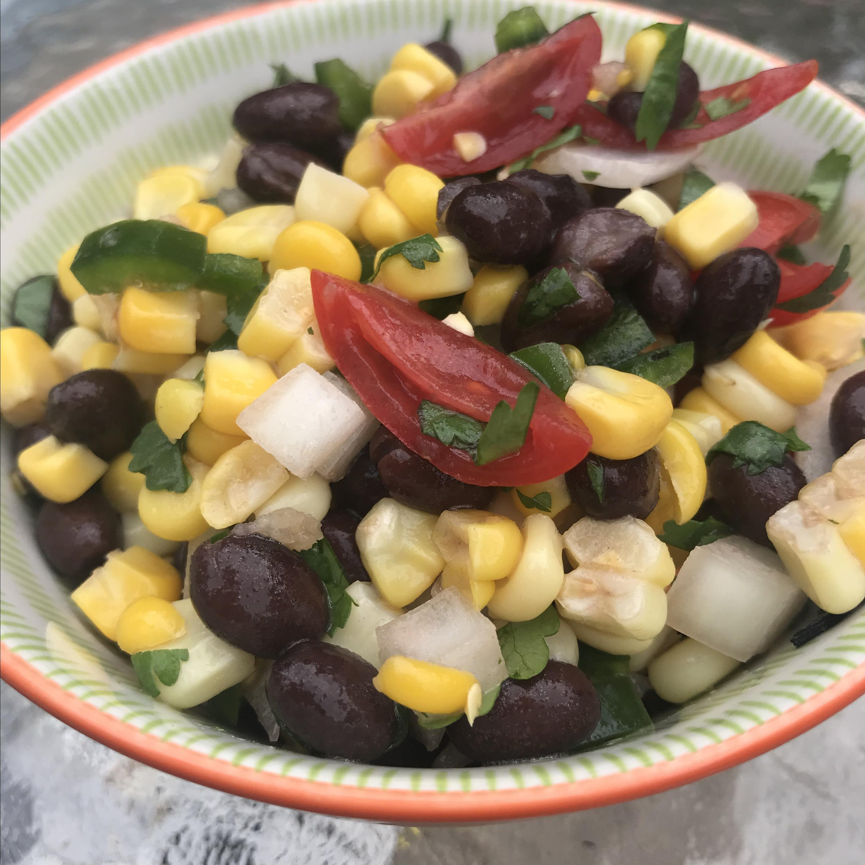 Oven-Roasted Corn and Black Bean Salsa