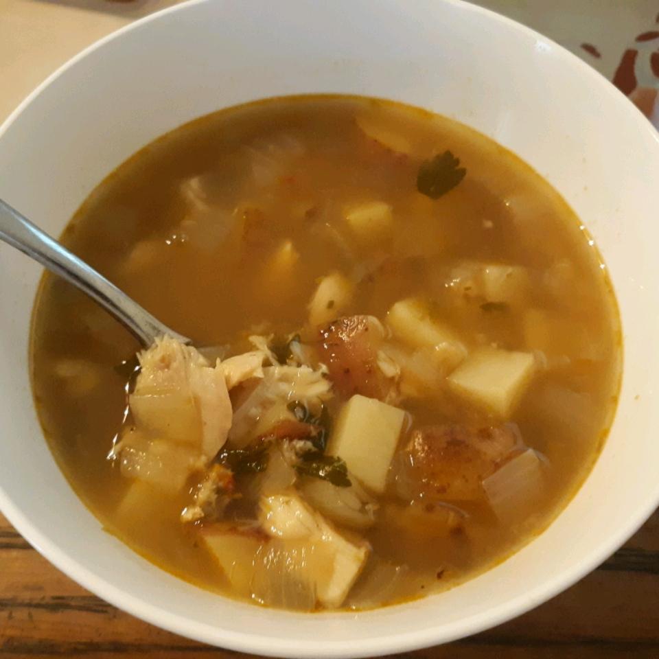Ukha (Russian Fish Soup) Emily Gurner Kellett