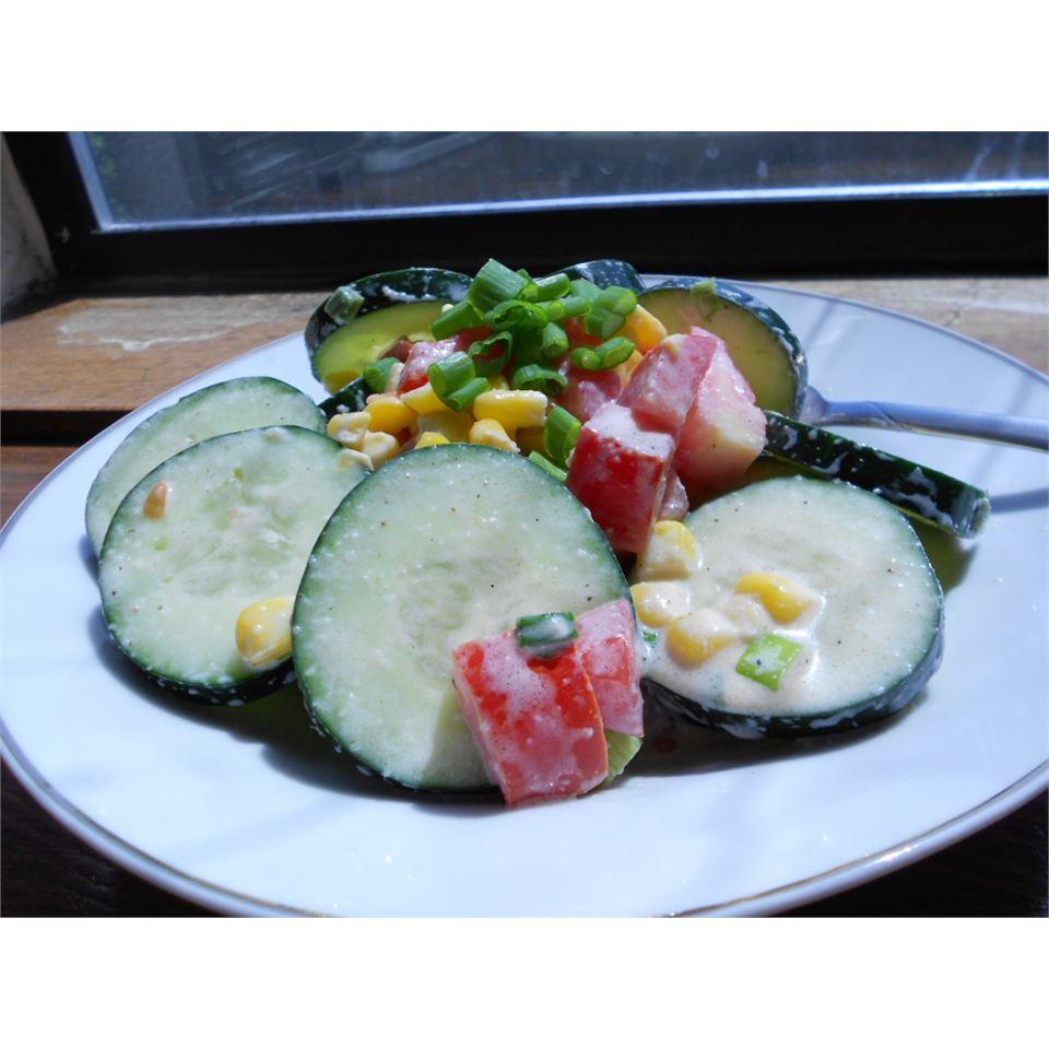 Wally's Cucumber Salad kellieann