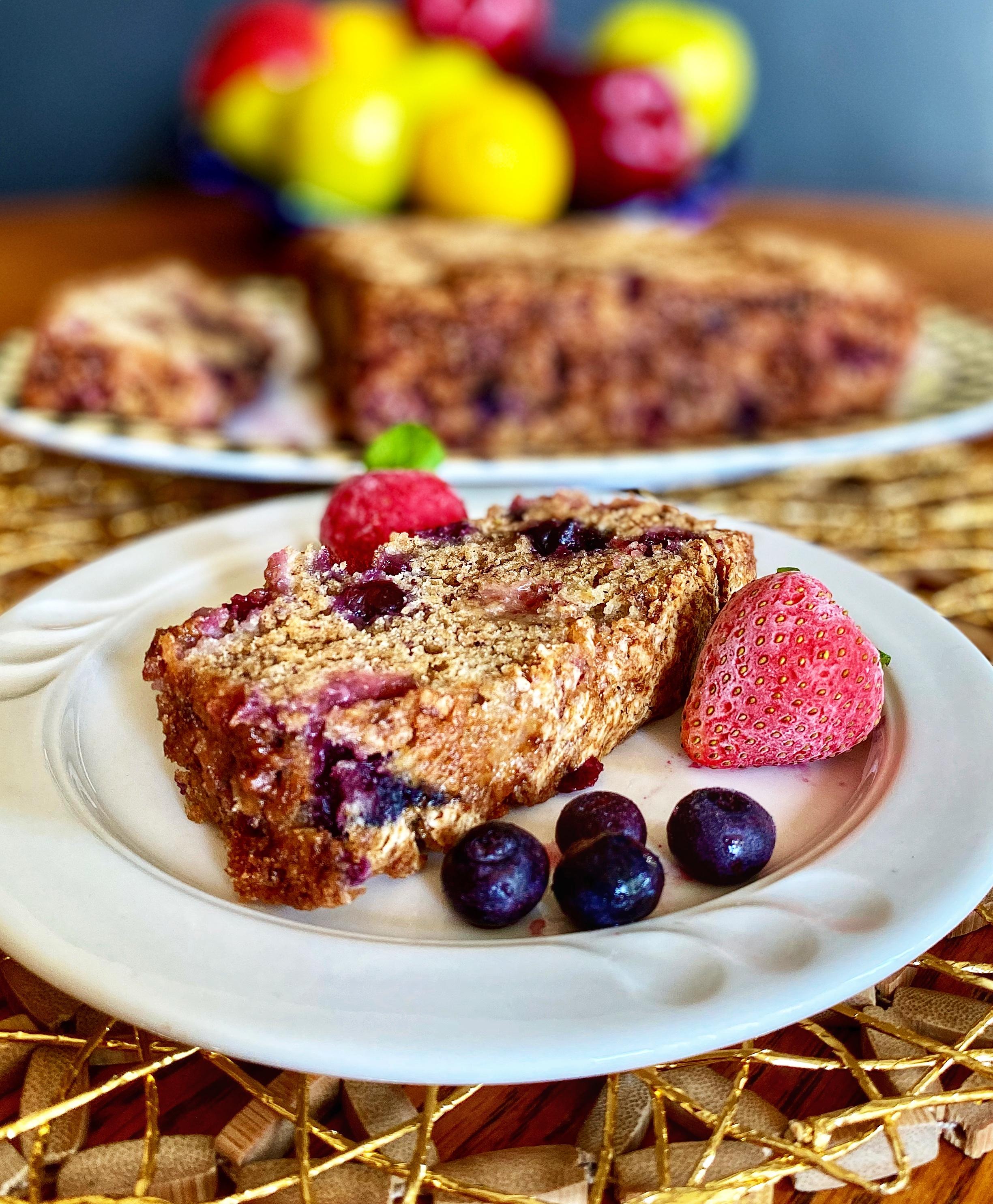 Banana Berry Bread