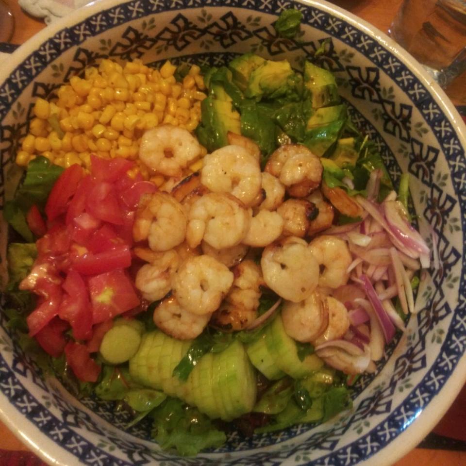 Summer Grilled Shrimp Salad Major Jack