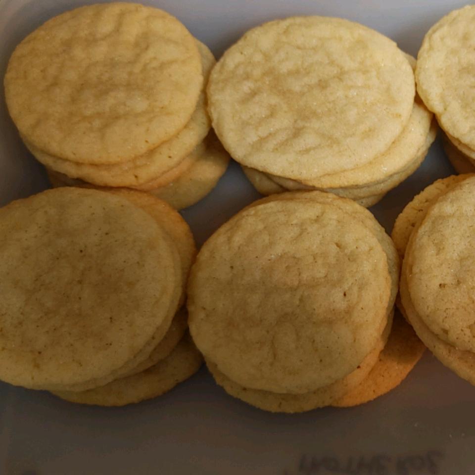 Chewy Sugar Cookies Six Protheroe
