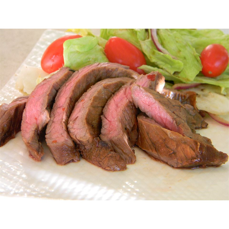 Grilled Skirt Steak with Homemade Asian Barbeque Marinade
