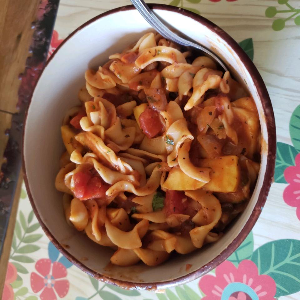 Spicy Pasta Rachel Stone