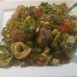 Chicken Sausage Tortellini Stir-Fry Waterless Cooker