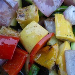 Grilled Vegetable Salad Ken Smedema