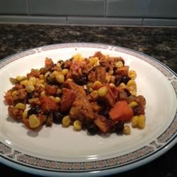 Mexican-Inspired Sweet Potato Hash