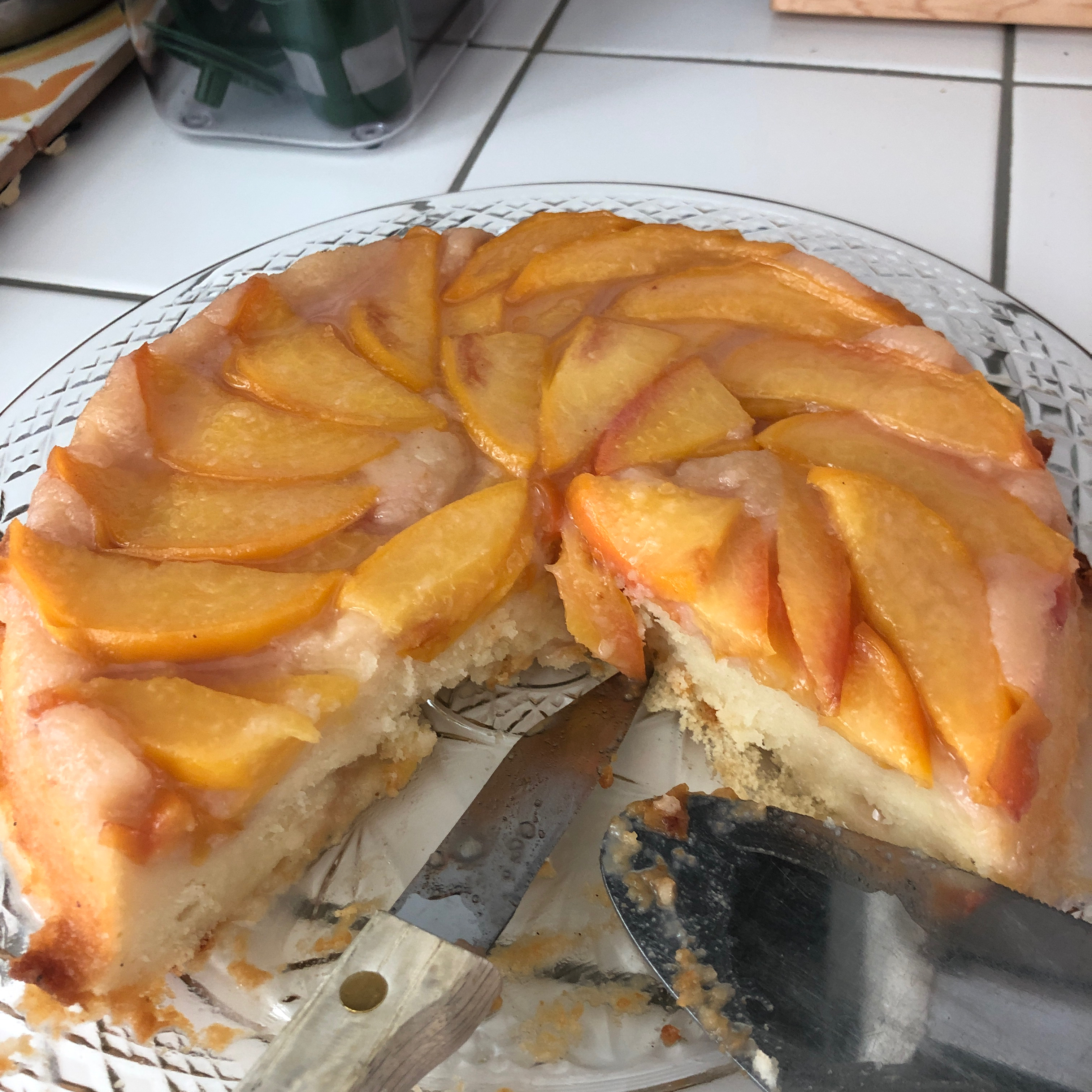 Peach Upside-Down Cake III MAL