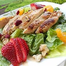 warm and limey chicken salad recipe
