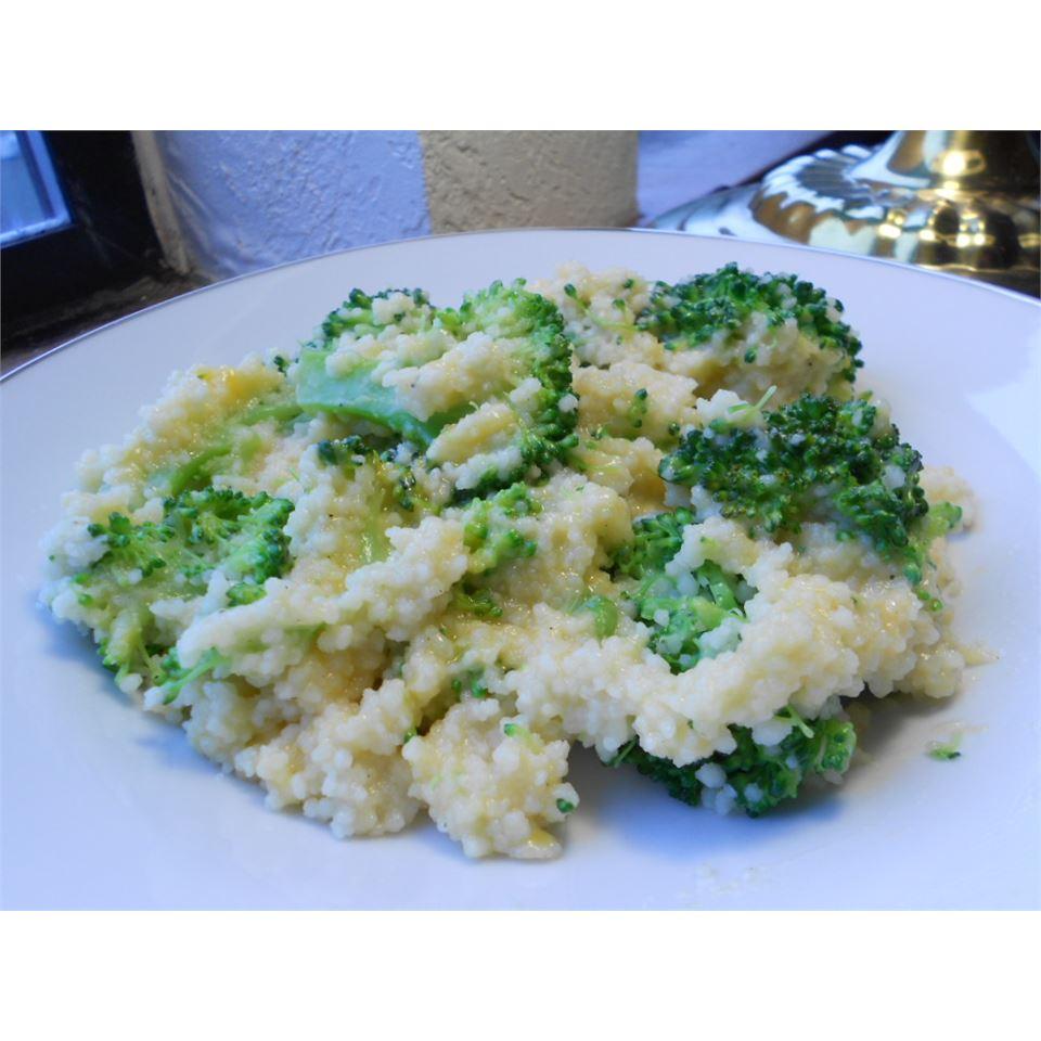 Cheesy Cauliflower Couscous kellieann