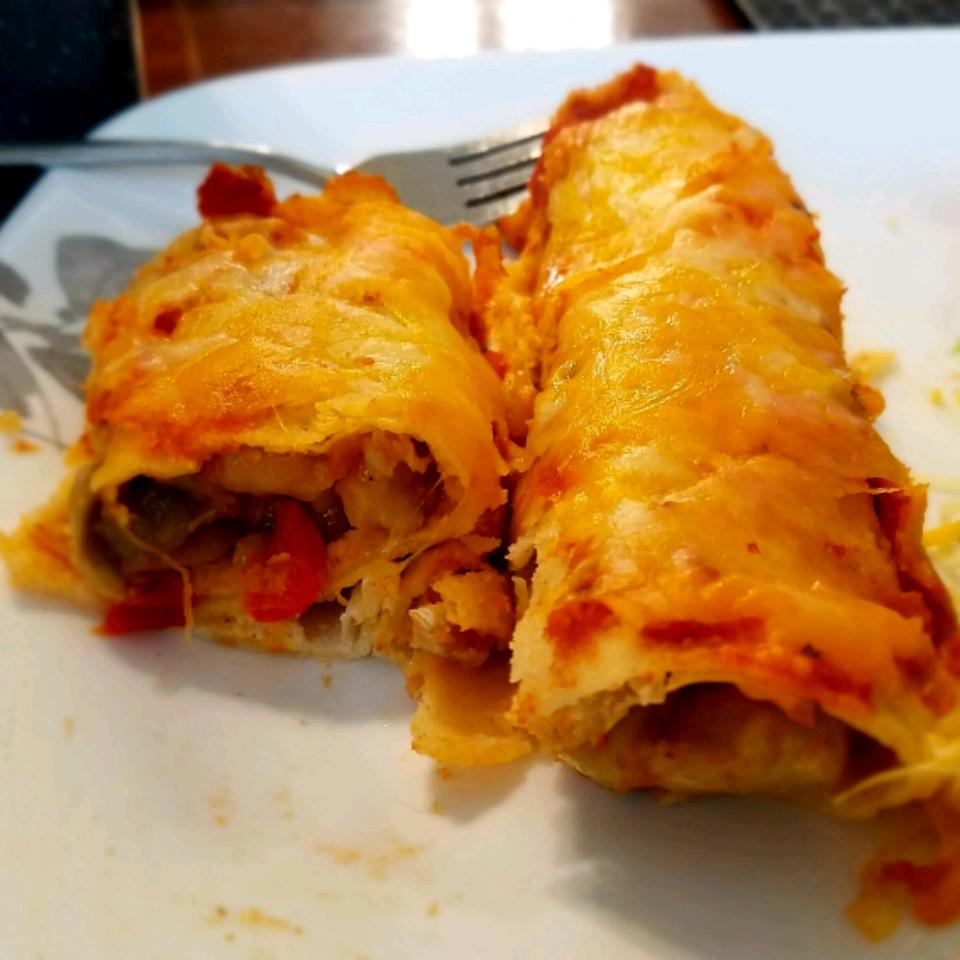 Kingfish Enchiladas BeautifulMess