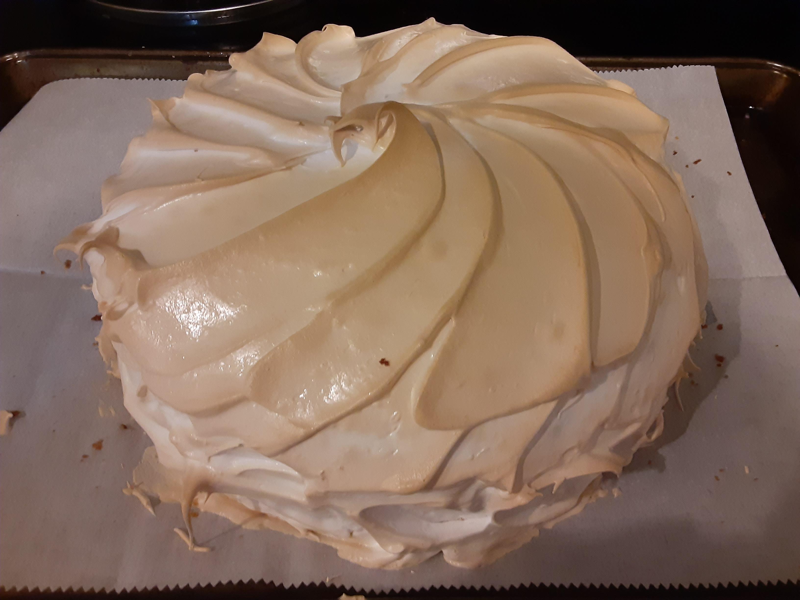 Lemon Meringue Cake Havik Kouroupis