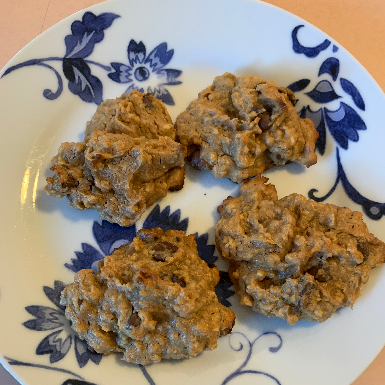 Peanut Butter-Banana Cookies Blazenangel