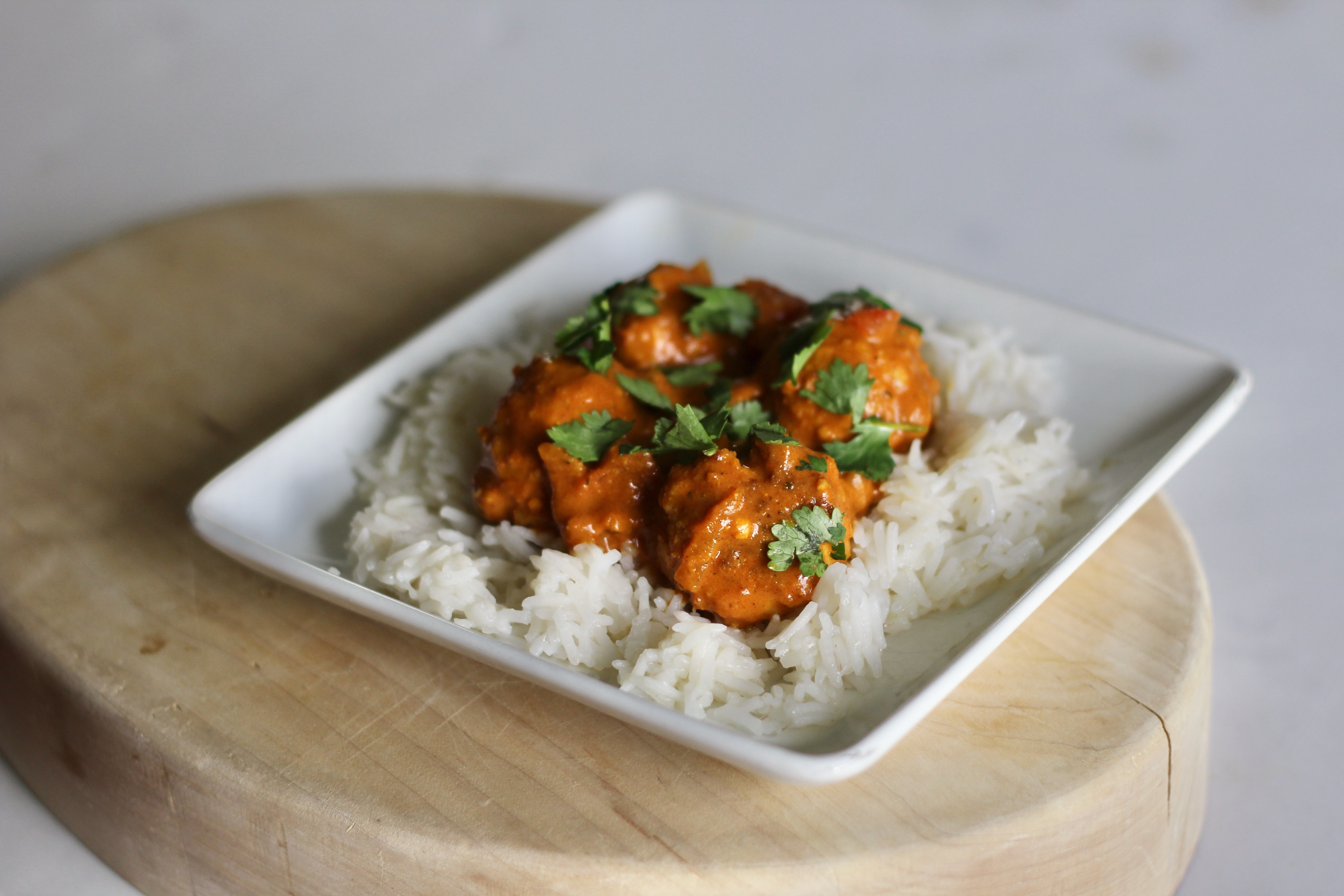 """Here's a tasty take on chicken tikka masala. """"Don't let the number of spices scare you off, the flavor of this dish is complex and satisfying,"""" says SunnyDaysNora. """"Serve over warm rice or with naan!"""""""